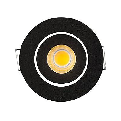 10Stück LED Einbauleuchte Deckenleuchte downlight LED 3Watt COB Spot Lampen + Treiber 6000K Weiß