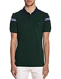Fred Perry Homme FPM156221426 Vert Coton Polo