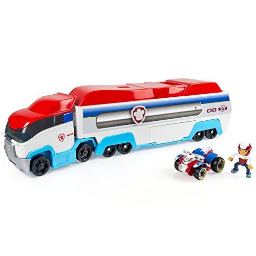 Buch Für Figur Jungen Kostüm - PAW Patrol 6024966 - Paw Patroller, Teamfahrzeug - LKW/Bus/Transporter, mit Ryder Fahrzeug und Figur
