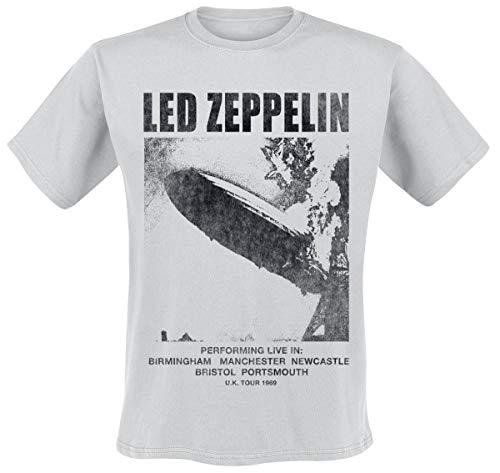 Led Zeppelin UK Tour '69 T-Shirt hellgrau L