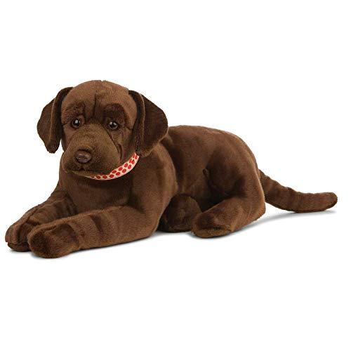 Living Nature Soft Toy - Großes Stofftier Labrador, braun (60cm)