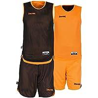 Spalding Teamsport Double Face, Conjunto Sport para Niños, Multicolor (orange/noir), 164 cm