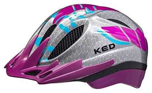 KED Meggy K-Star Kinder Fahrrad Helm reflektierend Gr. SM 49-55 cm violett 2020