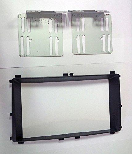 Selrot AV 2DIN DVD Dash Board Frame 1-pc Set for 2008 2009 2010 2011 KIA Forte & Forte Koup & Forte 5door