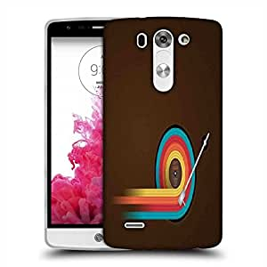 Snoogg Disc Table Designer Protective Phone Back Case Cover For LG G3 BEAT STYLUS
