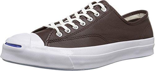 Converse Jck Pvrc Lea Ox, Unisex Erwachsene Low-Top Sneakers, Braun - Gebranntes Umbra - Größe: 8.5 M UK Women / 8 M UK Men -