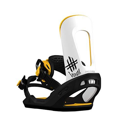 Switchback 2019 Destroyer Snowboard-Bindung, Jib (Black/Yellow/White), Medium -