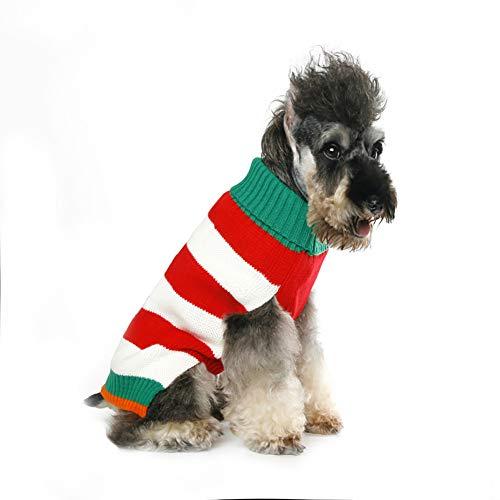 PET Herbst und Winter Hund Weihnachtskleid Tedibome als Bär Santa Claus Kleid,Green,XS