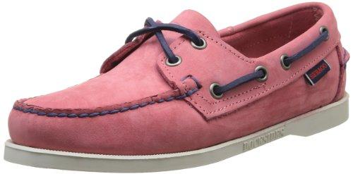 Sebago Damen Docksides Bootsschuhe PINK, 37.5 EU - Dockside Casual Schuhe