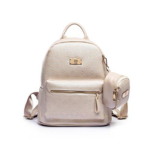 Tisdaini Damen Rucksack Mode Muster lässig senden Kleine Brieftasche
