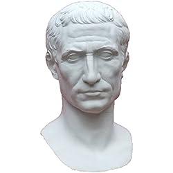 gipsnich Büste Cäsar, Römischer Kaiser