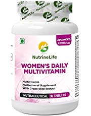 NutrineLife Women's Daily Multivitamin Supplement - 90 Tabl