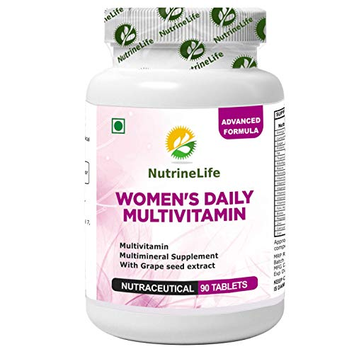NutrineLife Women's Daily Multivitamin Supplement - 90 Tablets (Pack of 1)