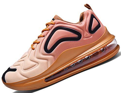 SINOES Hombre 720 Caña Baja Gimnasia Ligero Transpirable Casuales Sneakers de Exterior y Interior Zapatillas...