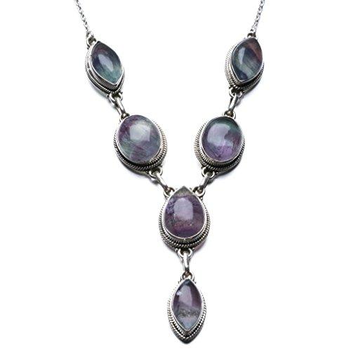 stargems-tm-natural-fluorite-design-unico-925-sterling-silver-necklace-19-1-2