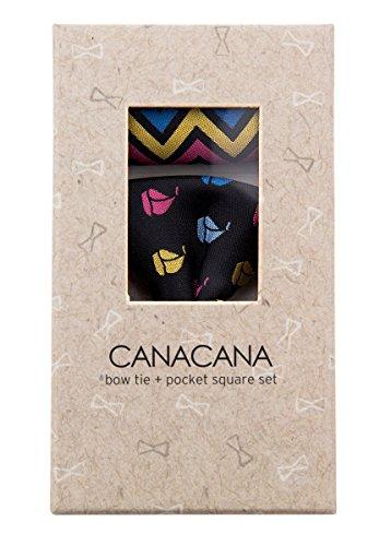 Canacana - Nœud papillon - Motifs - Garçon Noir - Noir