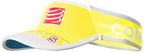 Compressport Ultralight - Visera Unisex, Color Amarillo Neón, Talla única
