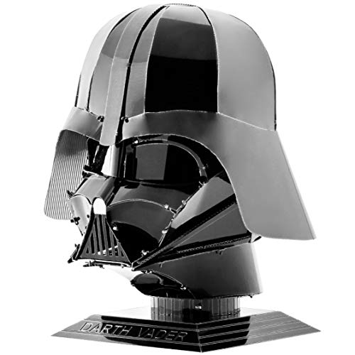 Professor Puzzle Darth Vadar Casco 3D Metal Modelo