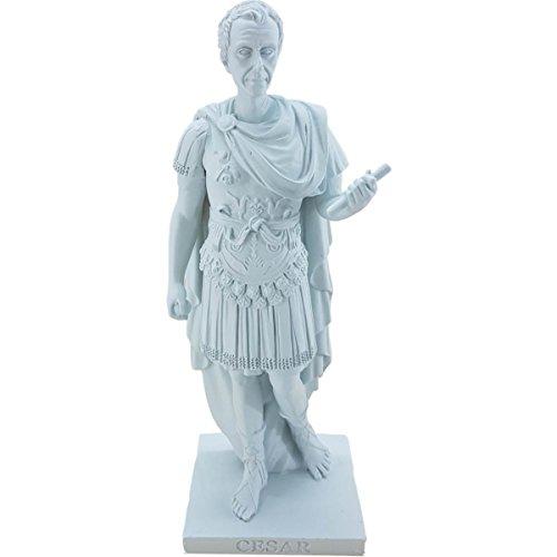 Kleine weiße Statue Julius Caesar 15cm (Statue Caesar Julius Von)