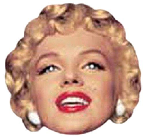 Halloweenia - Erwachsenen Marilyn Monroe Karneval Faschingsmaske, (Film Monroe Kostüme Marilyn)
