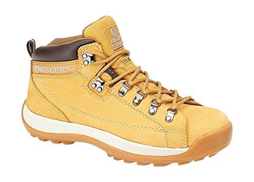 Amblers Steel FS122 - Chaussures montantes de sécurité - Femme Jaune
