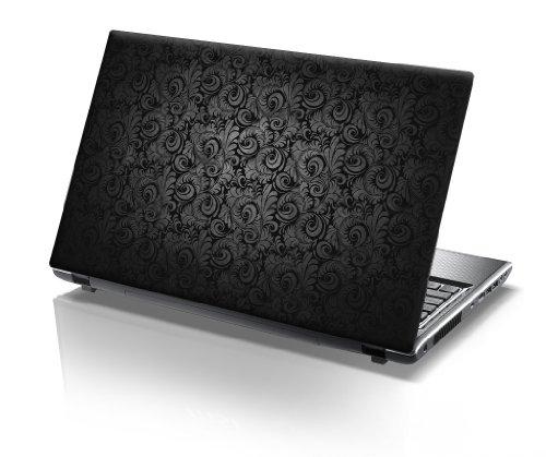 er Skin Vinyl Aufkleber mit bunten Mustern für 15 Zoll 15,6 Zoll (38cm x 25,5cm) Laptop Skin elegant, Paisley ()