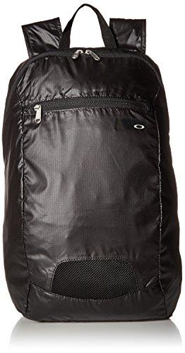 Oakley Unisex-Erwachsene Packable Backpack Rucksack, Blackout, Einheitsgröße (Oakley Bietet)