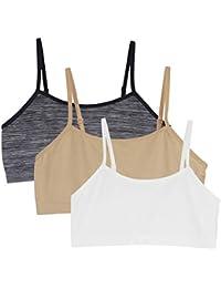 80dfcc22c7 Back to School 3pcs Baby Girls Sport Bra Vests Underwear Top Adjustable  Shoulder Strap.YINI