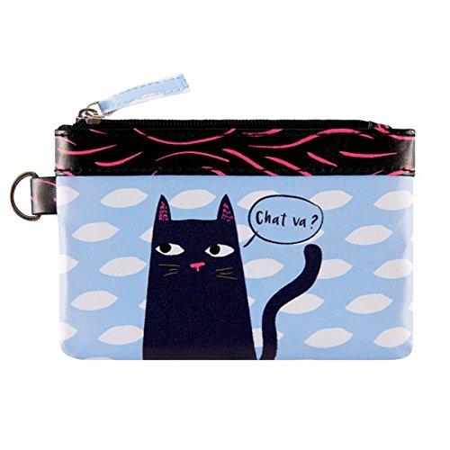 Porte-monnaie PAT Black Cat - Derrière la porte