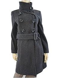 Amazon.it  ZARA - Grigio   Giacche e cappotti   Donna  Abbigliamento 02d92e63e5f