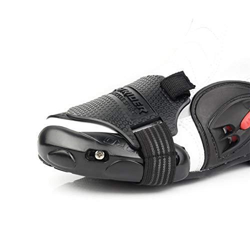 zaote Motorrad-Motorrad-Schaltkissen-Überschuh, Motorrad-Schalthebel, verschleißfester Moto-Schuhschutz, rutschfestes Schalthebelzubehör Value