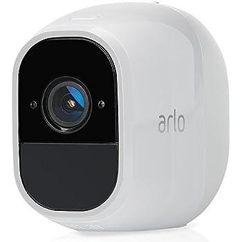 Arlo VMC4030P Telecamera Aggiuntiva per Sistema di Videosorveglianza Wifi senza Fili con Audio 2 Vie, Batteria, Full Hd, Visione Notturna, Interno/Esterno, Vcr Opz, Funziona con Alexa e Google Wifi