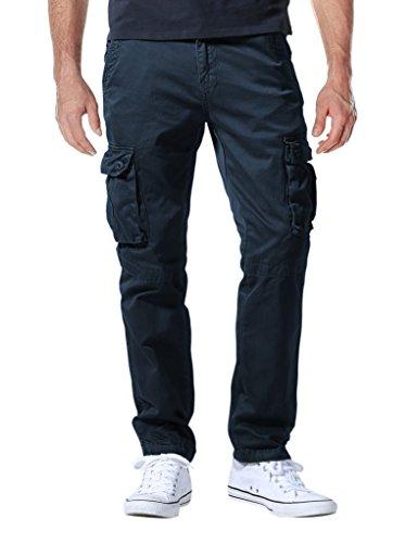 Match Herren Cargo hose#6531(6531 Blau,38W x Regular (DE 48))