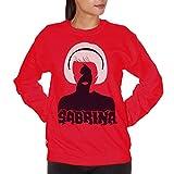 Felpa Girocollo Sabrina Terrificanti Avventure Strega Witch Salem - Film Choose ur Color - Uomo-M-Rossa