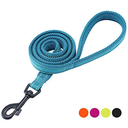 Nylon-mesh-material (Kaka Mall Hundeleine High Density Nylon Material Reflektierendes Design Gut für Training und täglichen Gebrauch Hundeleine Gepolstert Blau 2.5 * 120CM)