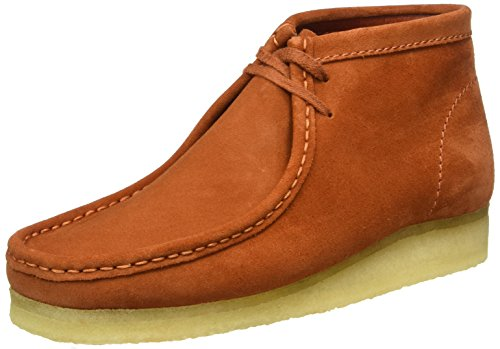 clarks-originals-mens-wallabee-ankle-boots-rust-vintage-105-uk