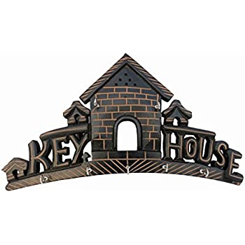 PINDIA Beautiful Home House Design Wood Wall Hanging Key CHABI Holder Hanger DÉCORATIVE
