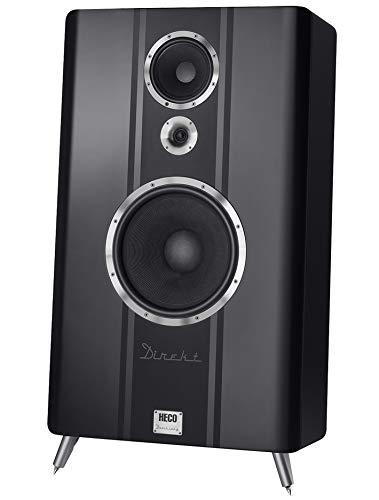HECO Direkt Dreiklang, Schwarz - High End Lautsprecher für große Räume und hohe Lautstärken, 600 Watt, UVP 5.000,00, Stückpreis