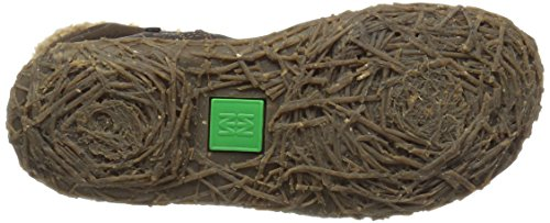 El Naturalista N758 Soft Grain-Lux Suede Wood/Nido, Stivali Corti Donna Marrone (Brown)