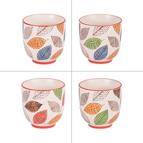 Coffret de 4 gobelets à thé 15 cl Forest