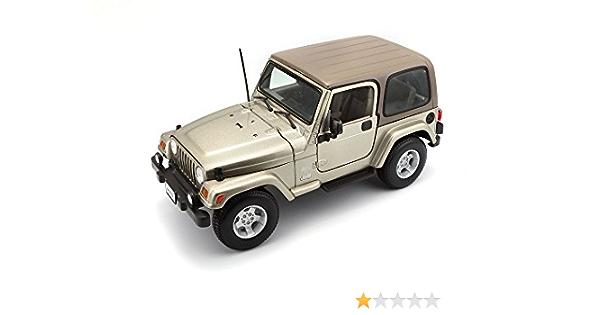 Bburago 18 12014 Gold Collezione 1 18 Jeep Wrangler Sahara Khaki Spielzeug