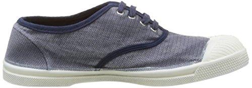 Bensimon Damen Tennis Vintage Sneakers Blau - Bleu (516 Marine)