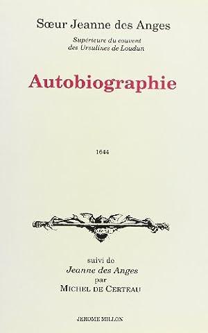 Autobiographie suivi de