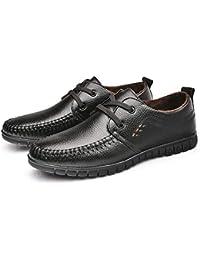 Calzado Suave de Hombre bajo para Ayudar con los Zapatos de Trabajo Urbano Zapatos Transpirables de