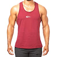 SMILODOX Stringer Herren | Muskelshirt mit Aufdruck für Sport Gym Fitness & Bodybuilding | Muscle Shirt - Tank Top - Unterhemd - Achselshirt - Trainingshirt Kurzarm