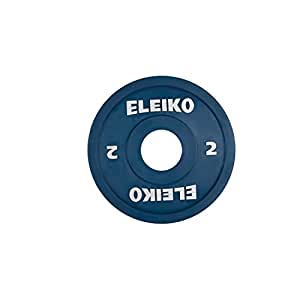 Bodypower Olympic Eleiko WL concurrence disque 2 kg