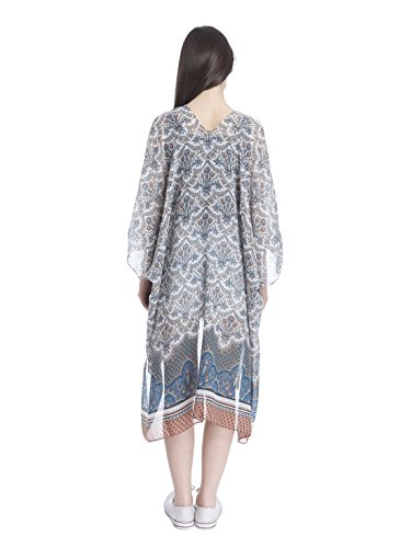 ONLY - Poncho -  donna Bianco