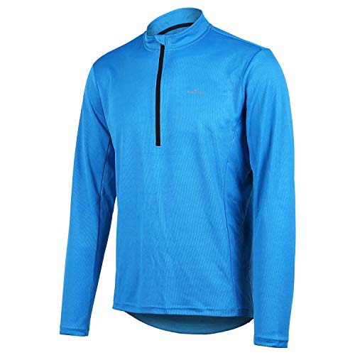 4Ucycling Herren Langarm Fahrrad Trikot T Shirt Radtrikot Cycling Jersey für Radsport