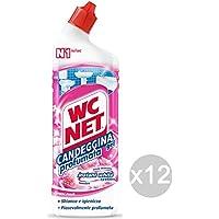 Set 12 WC NET Gel Perfumados Bleach 700 Ml Productos De Limpieza Y Limpieza De La