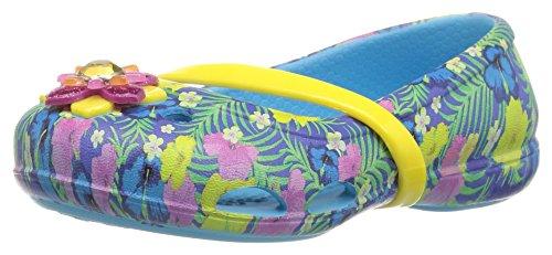 crocs Mädchen 204029 Closed-Toe Ballerinen Blau (Electric Blue)